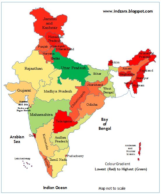 Geographical heat maps in excel india excel templates to india heat map by state excel template gumiabroncs Image collections