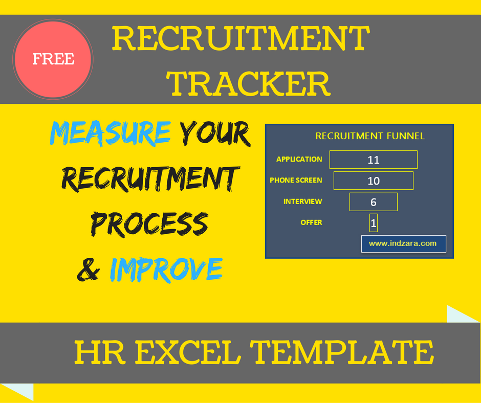 Recruitment Tracker Excel Template - Free download