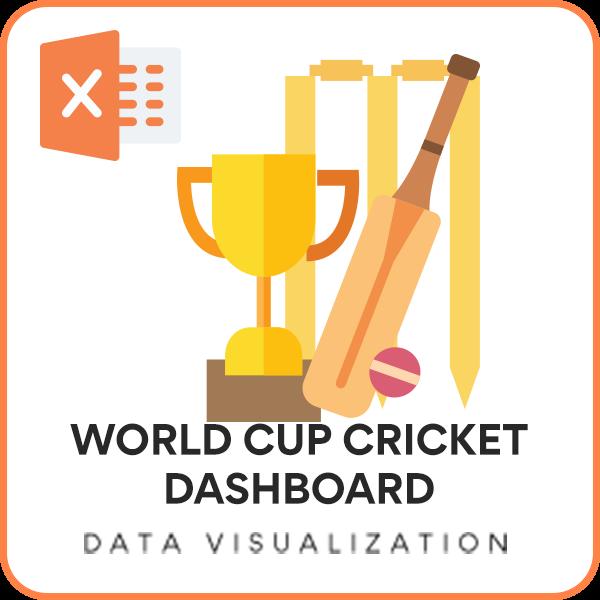 2015 Cricket World Cup Excel Dashboard