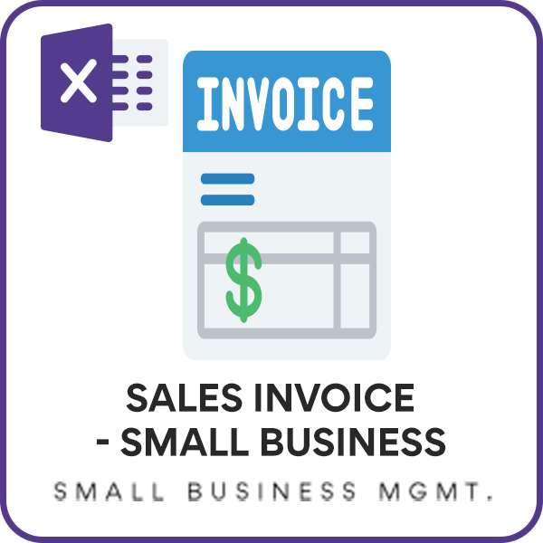 Free Invoice Template Sales Invoice Template For Small Business