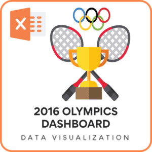 2016 Olympics - Excel Dashboard